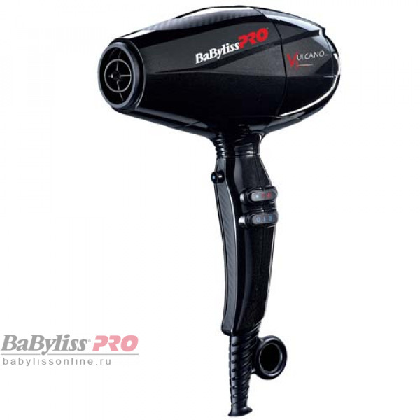 Профессиональный фен Babyliss Pro Vulcano V3 Black BAB6180IBE 2200W