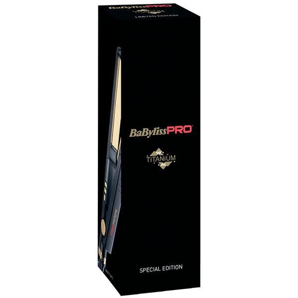 Профессиональный выпрямитель волос Babyliss Titanium Ionic Straightener черный BAB3091BKTE