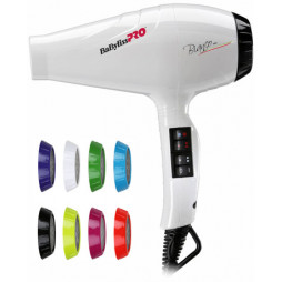 Профессиональный фен BaByliss Pro Luminoso Bianco Ionic BAB6350IE 2100W