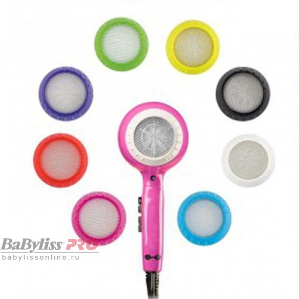 Профессиональный фен BaByliss Pro Luminoso Rosa Ionic BAB6350IFE 2100W