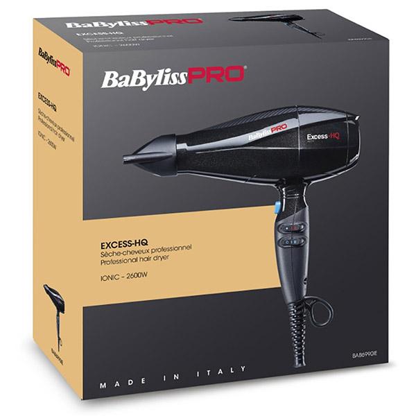 Профессиональный фен BaByliss Pro Excess-HQ BAB6990IE 2600W