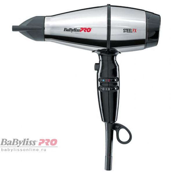 Профессиональный фен BaByliss Pro STEELFX Barbers Spirit 4Artist BAB8000IE 2000W