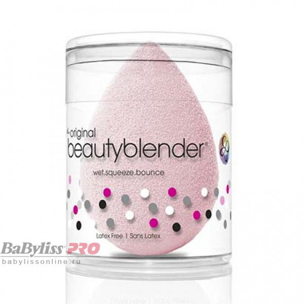Спонж beautyblender original bubble Нежно-розовый 1053