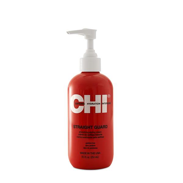 Крем для укладки вьющихся волос Chi Straight Guard Smoothing Styling Cream 251 мл CHI5208