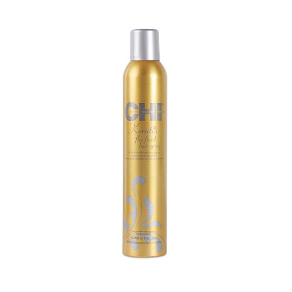 Лак для волос с кератином средней фиксации Chi Keratin Flex Finish Hair Spray 284 гр CHIKH10