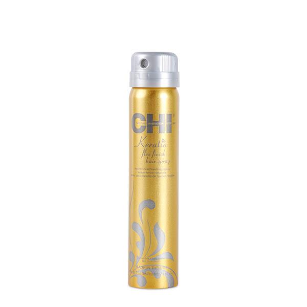 Лак для волос с кератином средней фиксации Chi Keratin Flex Finish Hair Spray 74 гр CHIKH2