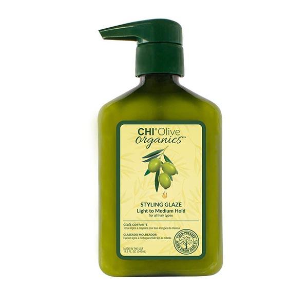 Гель стайлинг средней фиксации Chi Olive Organics Styling Glaze 340 мл CHIOG12