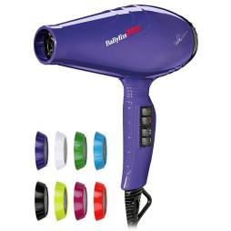 Профессиональный фен BaByliss Pro Luminoso Viola Ionic BAB6350IPE / BAB6360IPE 2100W