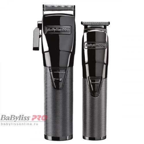 Набор машинка для стрижки + триммер BaByliss PRO 4Artist GunsteelFX FX8705E