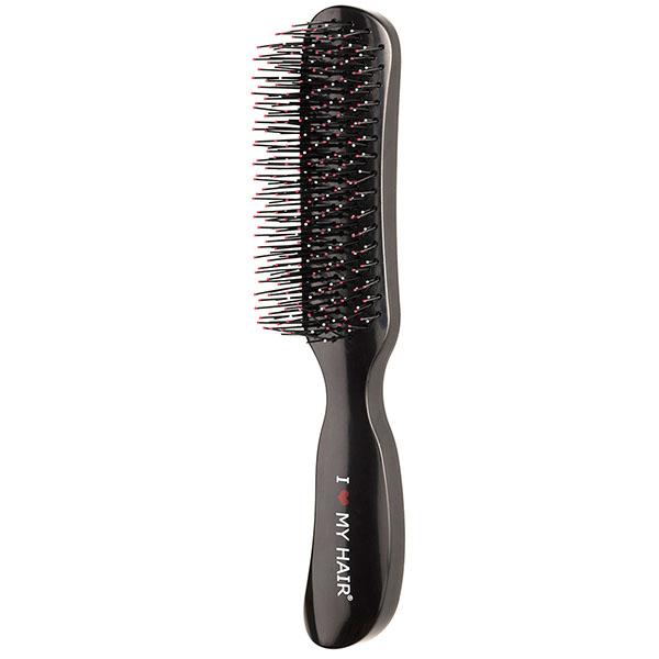 Щетка для волос I Love My Hair Therapy Brush 18280 черная глянцевая M 0409-18280-01