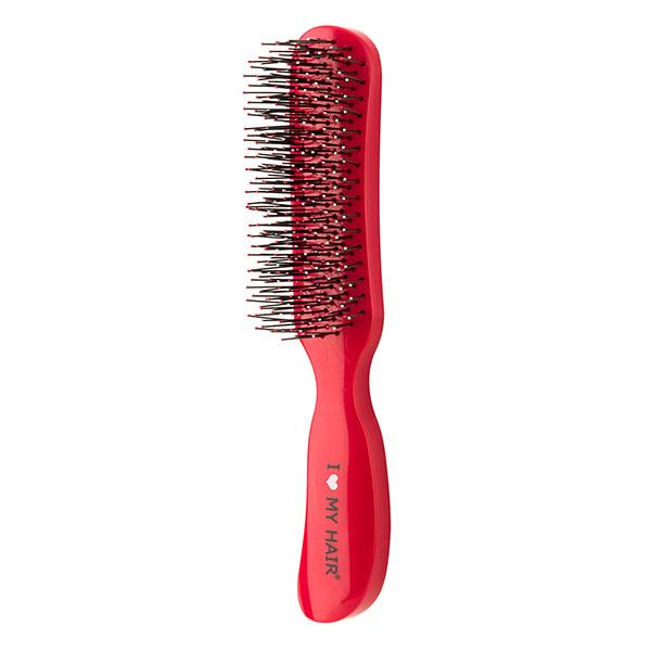 Щетка для волос I Love My Hair Therapy Brush 18280 красная глянцевая M 0409-18280-08