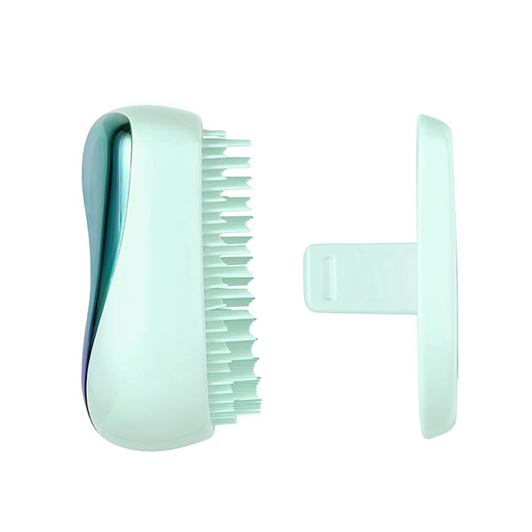 Расческа Tangle Teezer Compact Styler Petrol Blue Ombre Голубой хром 2176