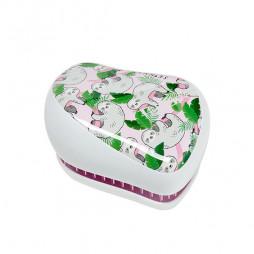 Расческа Tangle Teezer Compact Styler Skinny Dip So Slow Sloths Розовый/белый 2230