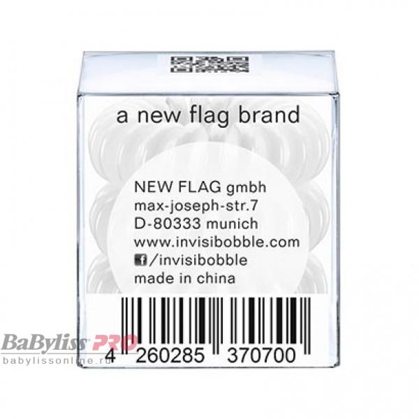 Резинка-браслет для волос invisibobble Original Innocent White Белый 3 шт 3002