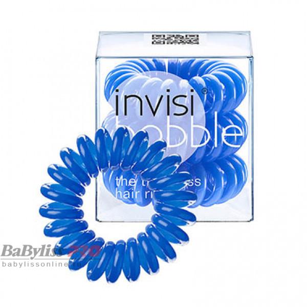 Резинка-браслет для волос invisibobble Original Navy Blue Синий 3 шт 3003