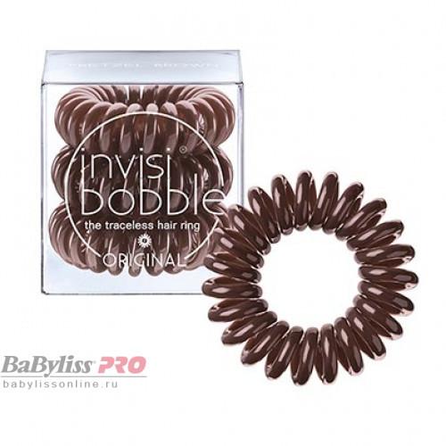 Резинка-браслет для волос invisibobble Original Pretzel Brown Коричневый 3 шт 3041