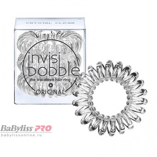Резинка-браслет для волос invisibobble Original Crystal Clear Прозрачный 3 шт 3042