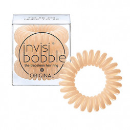 Резинка-браслет для волос invisibobble Original To Be or Nude to Be Бежевый 3 шт 3044