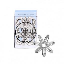 Резинка для волос invisibobble Nano Crystal Clear Прозрачный 3 шт 3050