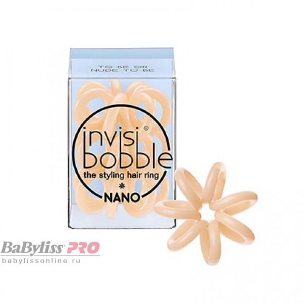 Резинка для волос invisibobble Nano To Be or Nude to Be Бежевый 3 шт 3051