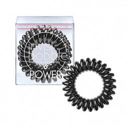 Резинка-браслет для волос invisibobble Power True Black Черный 3 шт 3052