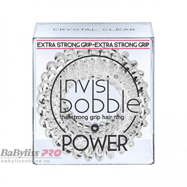 Резинка-браслет для волос invisibobble Power Crystal Clear Прозрачный 3 шт 3053