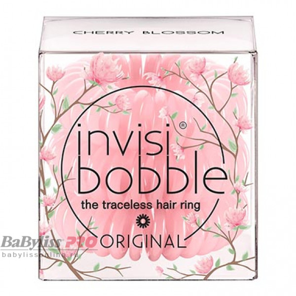 Резинка-браслет для волос invisibobble Original Cherry Blossom Нежно-розовый 3 шт 3059