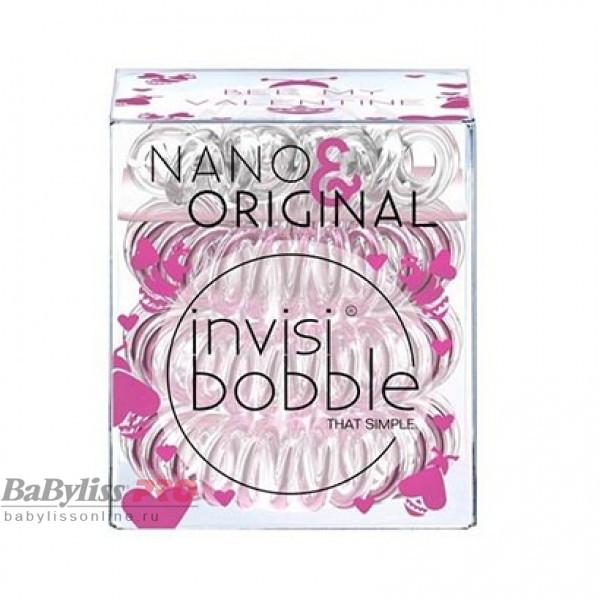 Набор резинок для волос invisibobble Bee Mine Розовое золото/Прозрачный 6 шт 3067