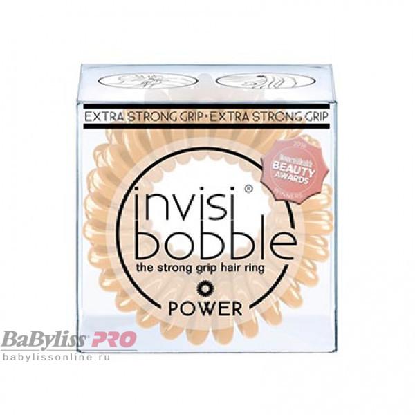 Резинка-браслет для волос invisibobble Power To Be Or Nude To Be Бежевый 3 шт 3069