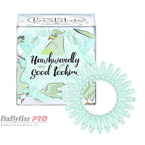 Резинка-браслет для волос invisibobble Original Hawkwardly Good Looking Серо-зеленый 3 шт 3074
