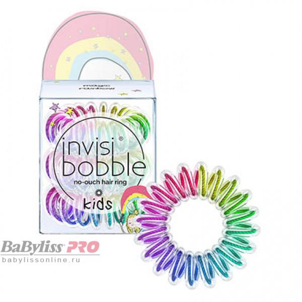 Резинка для волос детская invisibobble Kids magic rainbow Разноцветная 3 шт 3093