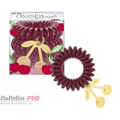 Резинка-браслет для волос invisibobble Tutti Frutti Cherry Cherie Вишневый 3 шт 3101
