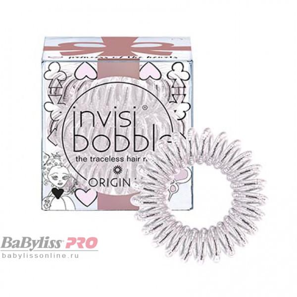 Резинка-браслет для волос invisibobble Original Princess of the Hearts Искристый Розовый 3 шт 3103