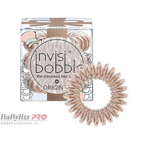 Резинка-браслет для волос invisibobble Original Tea Party Spark Сияющий Бронзовый 3 шт 3105