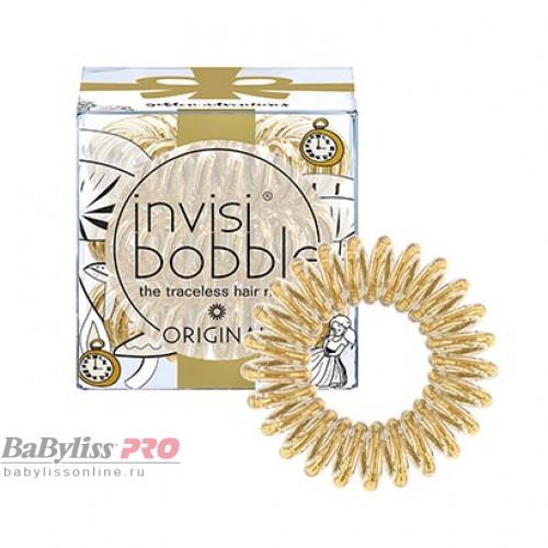 Резинка-браслет для волос invisibobble Original Golden Adventure Сияющий Золотой 3 шт 3106
