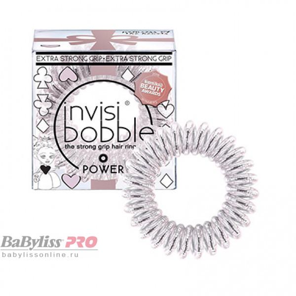 Резинка-браслет для волос invisibobble Power Princess of the Hearts Искристый Розовый 3 шт 3109