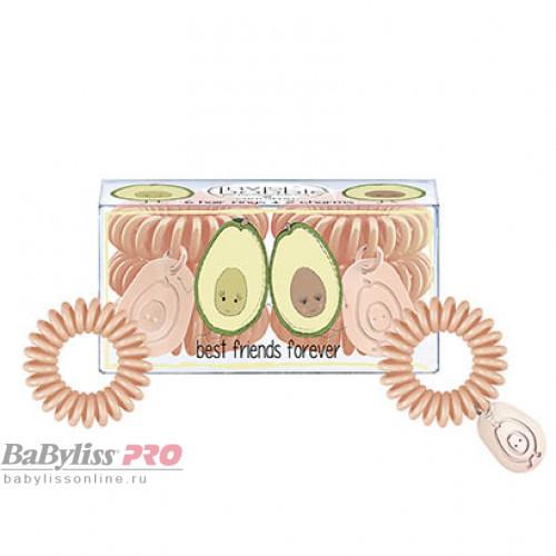 Набор резинок для волос invisibobble BFF Персиковый 6 шт 3114