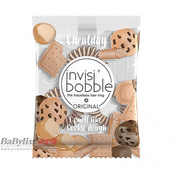 Ароматизированная резинка-браслет invisibobble Cheat Day Cookie Dough Craving Карамельный 3 шт 3116