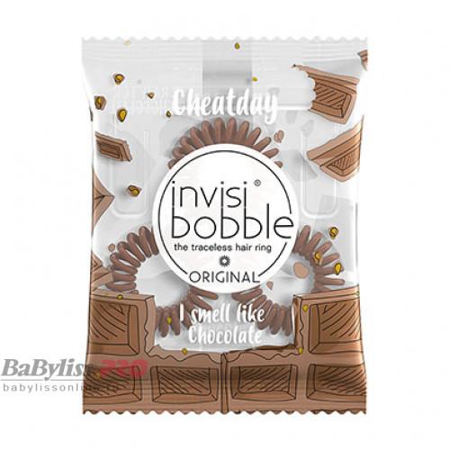 Ароматизированная резинка-браслет invisibobble Cheat Day Crazy For Chocolate Шоколадный 3 шт 3118
