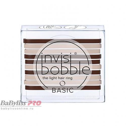 Резинка для волос invisibobble Basic Mocca & Cream Кофейно-молочный 10 шт 3122