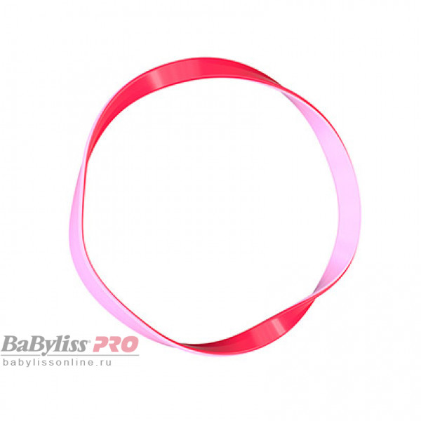 Резинка для волос invisibobble BASIC Jelly Twist Красно-розовый 10 шт 3123