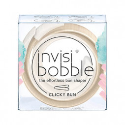 Заколка для волос invisibobble Clicky Bun To Be Or Nude To Be Бежевый 3136