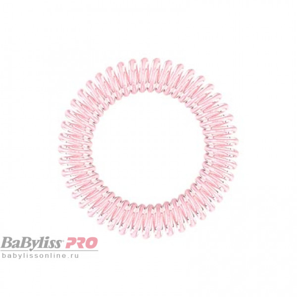 Резинка-браслет для волос invisibobble Slim Time To Pink Мерцающий Розовый 3 шт 3140