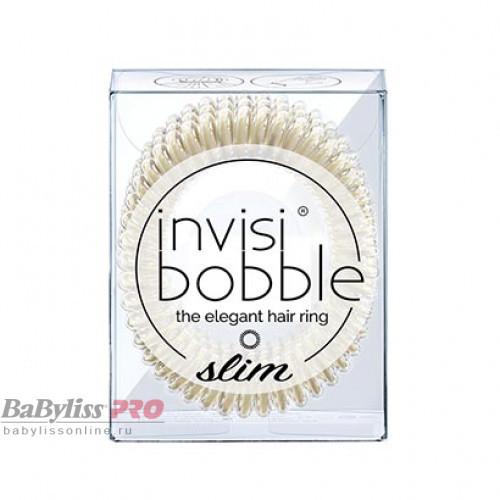 Резинка-браслет для волос invisibobble Slim Stay Gold Золотистый 3 шт 3141