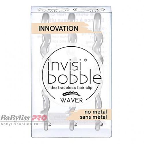 Заколка для волос invisibobble Waver Crystal Clear Прозрачный 3 шт 3152