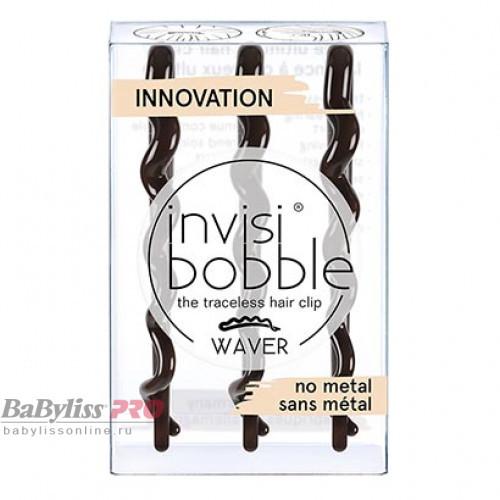 Заколка для волос invisibobble Waver Pretty Dark Коричневый 3 шт 3153