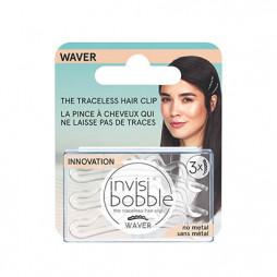 Заколка для волос invisibobble Waver Crystal Clear Прозрачный 3 шт 3154