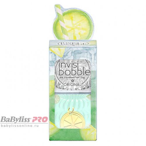 Набор резинок invisibobble Original Happy Hour Main Squeeze Прозрачный/Лаймовый 6 шт 3156