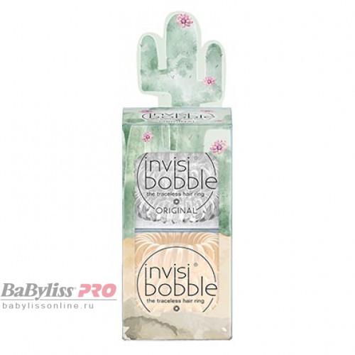 Набор резинок invisibobble Original Desert Bloom Looking Sharp Прозрачный/Бежевый 6 шт 3160