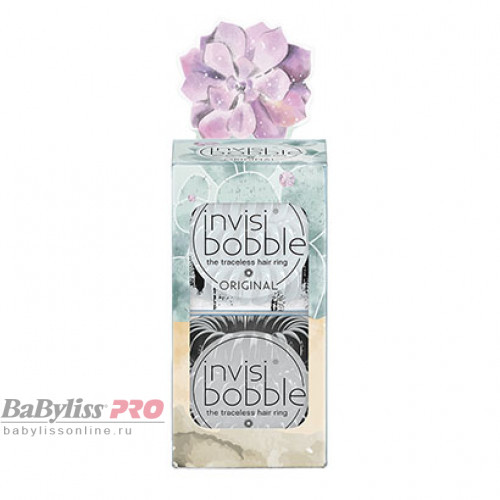 Набор резинок для волос invisibobble Original Desert Bloom Stuck On You Серый/Черный 6 шт 3161